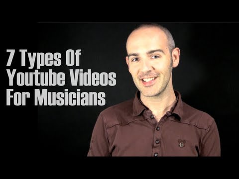 7 Types Of Youtube Videos For Musicians-The Creative Advisor with Gregory Douglass