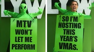 Miley Cyrus Hosting 2015 MTV VMAs