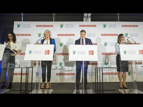 Toronto mayoral candidates argue over plans for affordable housing