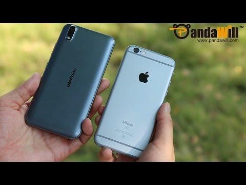 Ulefone Paris Smartphone VS iPhone 6S