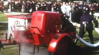 Flint Fire Service in Cheshire Fire Service Competition  1964