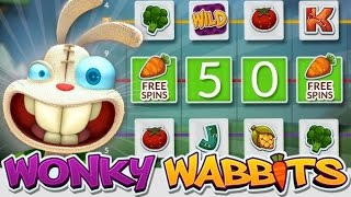Wonky Wabbits Online Slot Game from Net Entertainment(Find Where to Play Wonky Wabbits: http://online.casinocity.com/slots/game/wonky-wabbits/ http://www.thisweekingambling.com - The Wonky Wabbits Online ..., 2014-05-06T20:12:44.000Z)