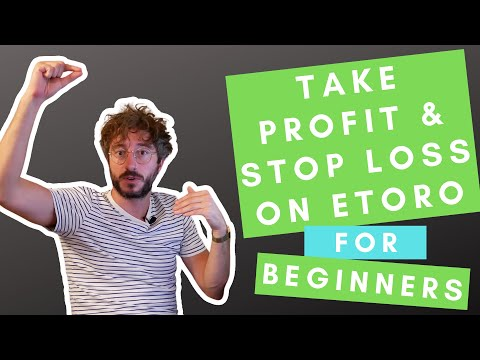 Etoro Take Profit, Stop Loss, Trailing Stop Loss And Copy Stop Loss For Beginners