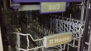 Обзор посудомоечной машины Hansa ZWM428IEH