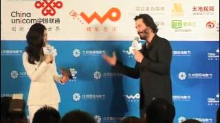 2013 Keanu Reeves presents the film