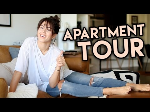 MY NEW APARTMENT TOUR | MeganBatoon