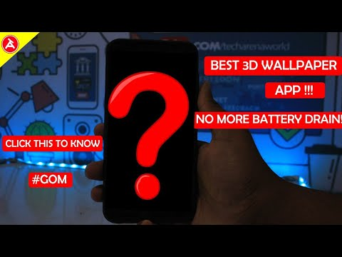 3d Wallpaper App That Does Not Use More Battery Very Easy