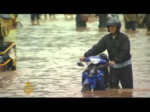 Jakarta under water after torrential rains