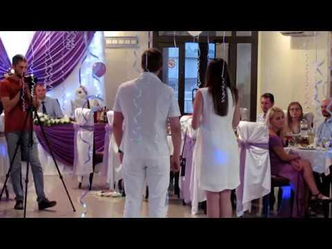Поздравление от гостей на свадьбе 2019