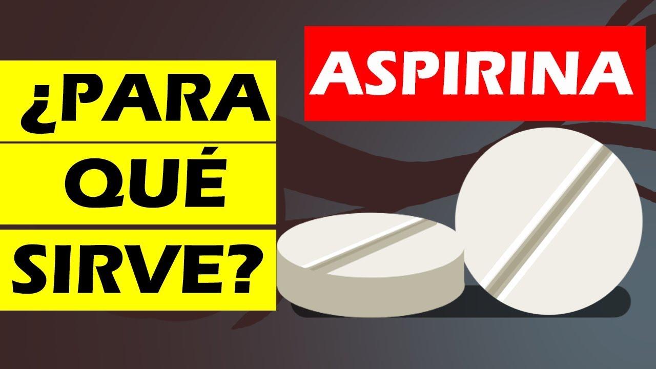 Para Qué Sirve La Aspirina Youtube