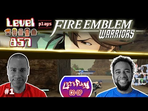 Let's Play Co-op: Fire Emblem Warriors with Turbo857 & The 23rd Stallion | Part 1 | Nintendo Switch