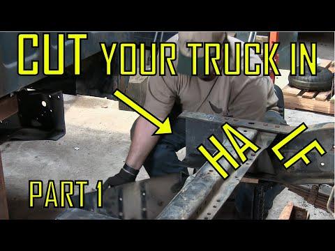 How To Shorten Or Cut A Truck Frame DIY
