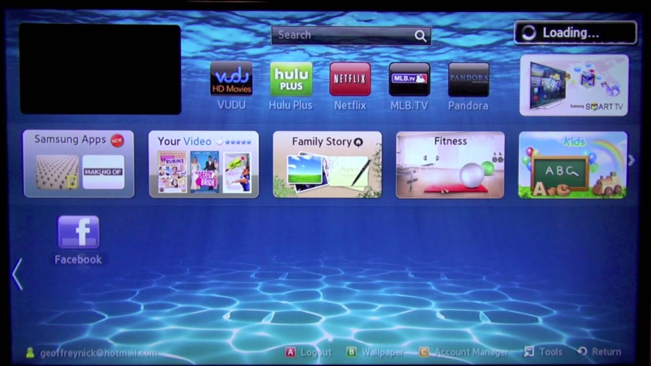 How To Rearrange Apps On Samsung Smarttv Youtube