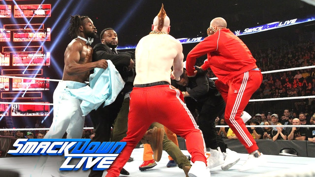 The Usos vs. The Bar - Rap Battle: SmackDown LIVE, Dec. 11, 2018