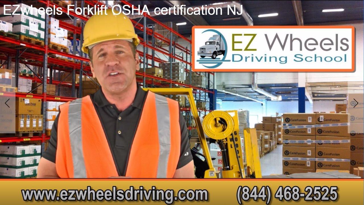 Ezwheelsdriving 844 468 2525 Forklift Osha Operator