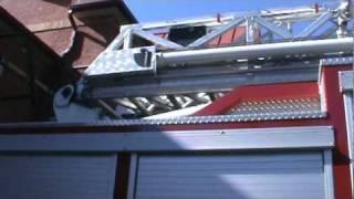 Brampton Fire Department Aerial 207 Walk Around.mpg