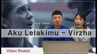 BEST INDONESIAN SONG EVER! KOREAN REACT TO 'AKU LELAKIMU - VIRZHA'