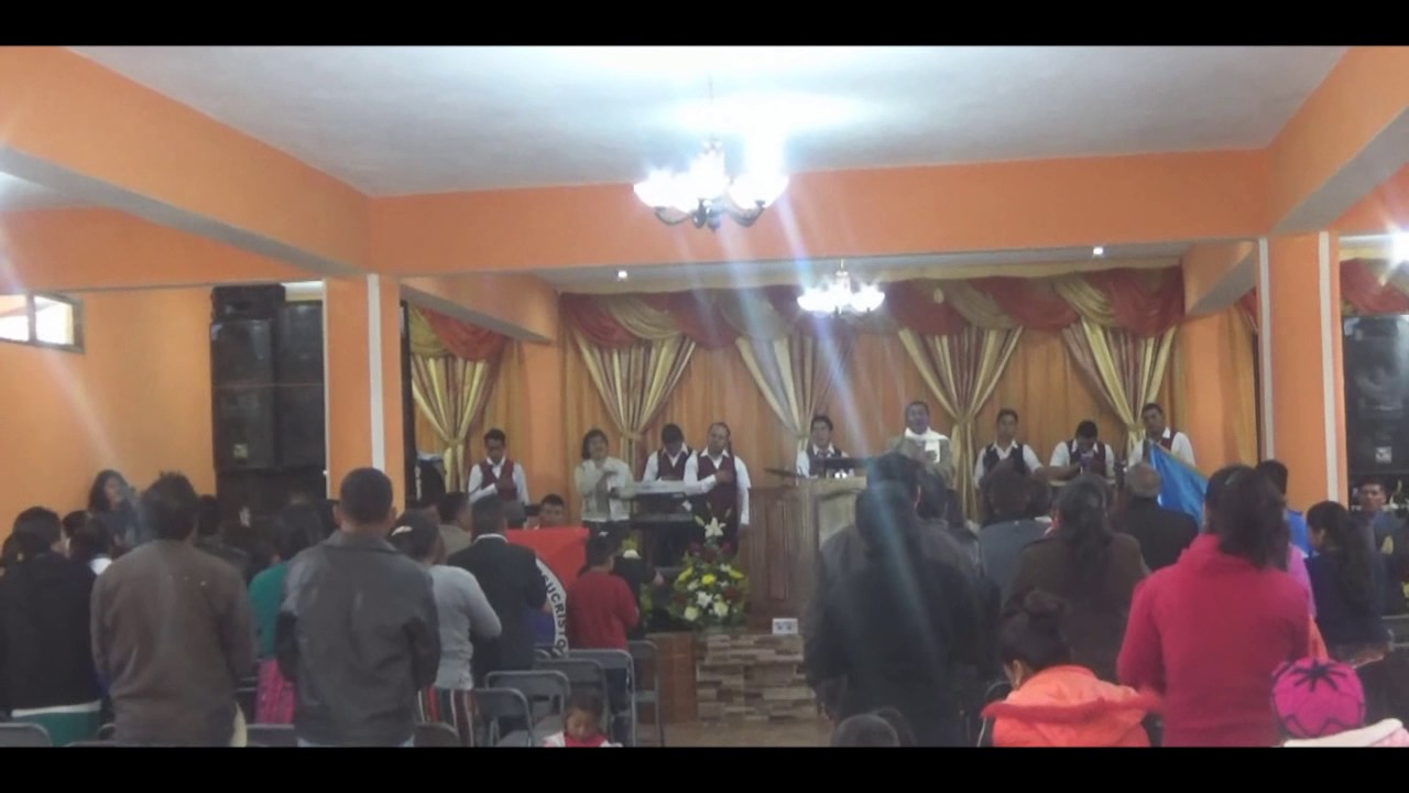 Inauguración De Iglesia Poderoso Salvador Nuevo Milenio San Marcos ...