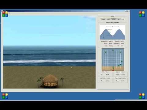 Templeman Automation Beachview Software Demo Ocean Wave