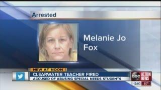 Teacher fired for abuṡing student