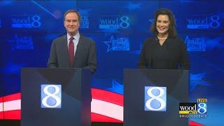 The Michigan gubernatorial debate at WOOD TV8