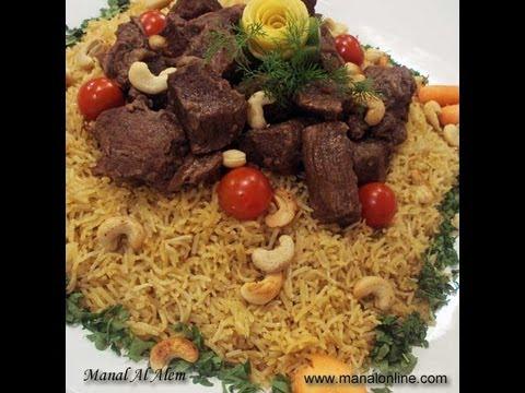 الأرز البخاري بعصير الجزر - مطبخ منال العالم