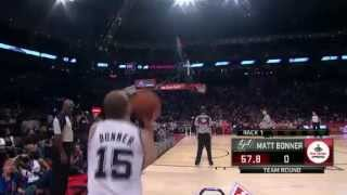 NBA Three Point Shootout - Matt Bonner RD 1