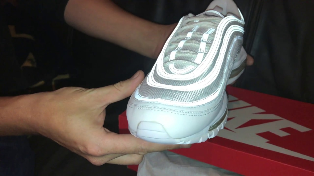 Nike Air Max 97 Wolf Grey White Unboxing Youtube
