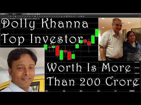 Dolly Khanna Top Investor - Share Holding IN 20 Stocks During June, 17 Quarter