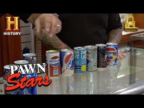 Pawn Stars: Pepsi Limited Edition Cans