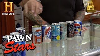 Pawn Stars: Pepsi Limited Edition Cans | History thumbnail