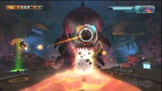Ratchet u0026 Clank: All 4 One - Wigwump Wallop Gameplay Movie