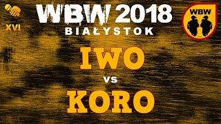 bitwa IWO vs KORO # WBW 2018 Białystok (1/2) # freestyle battle