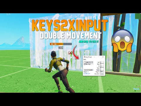 BEST Tutorial On How To Use KEYS2XINPUT + Best Settings