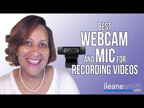 Best Webcam and Mic for Recording Videos
