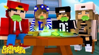 Minecraft College Life #34 - THE GUYS FIRST DOUBLE DATE IS RUINED!!
