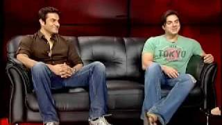 Arbaaz Khan and Sohail Khan celebrates Independence Day with