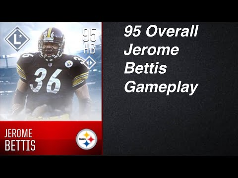 95 Overall Jerome Bettis Gameplay