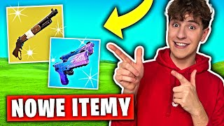 NOWE ITEMY w Fortnite!