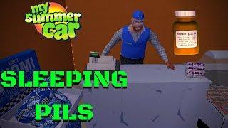 SLEEPING PILLS - My Summer Car #106 (Mod)