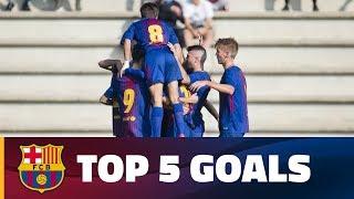 FCB Masia-Academy: Top 5 goals (18-19 November)