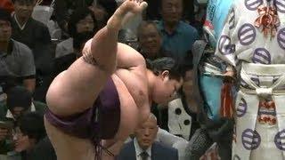 遠藤vs玉鷲 2013/9/18