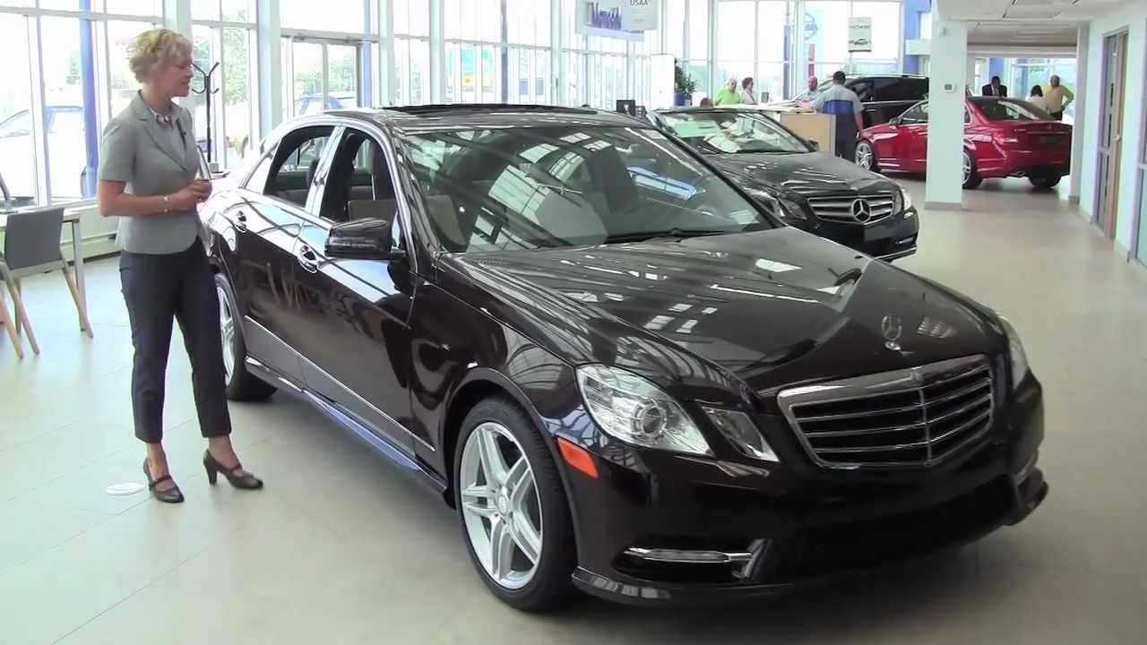 The New 2013 Mercedes Benz E350 Sedan Feldmann Imports