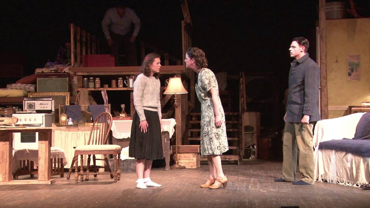 The diary of anne frank | cleveland play house | 216. 241. 6000.