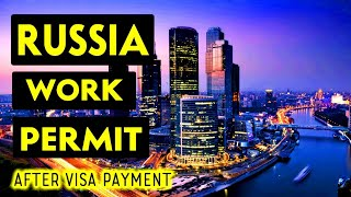 Russia work permit || CV selection || Payment after visa ||