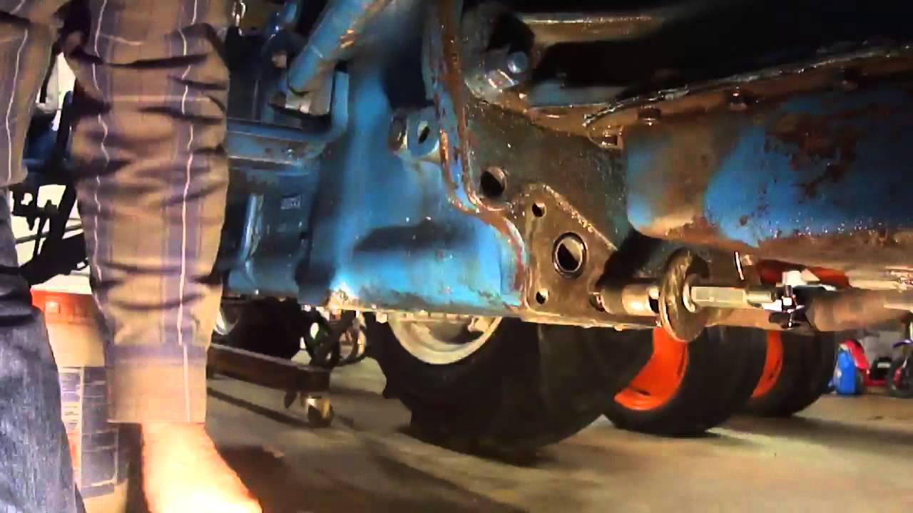 medium resolution of ford 2000 tractor hydraulic line removal 3