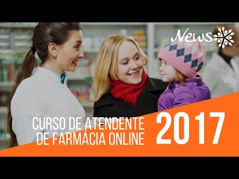 Vídeo Curso de atendente de farmácia