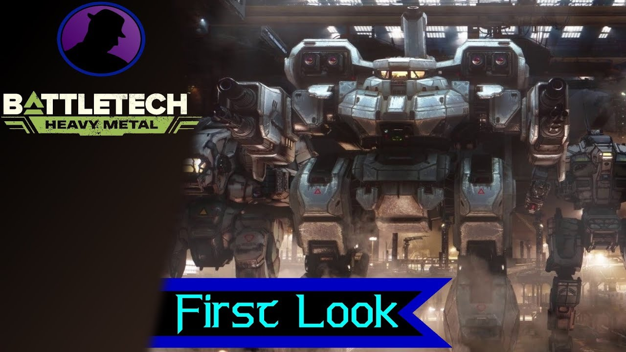 First Look - Battletech Heavy Metal