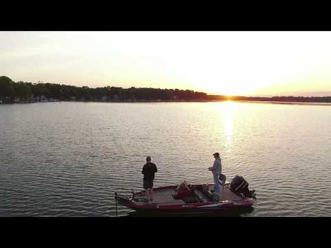 Bass Fishing And Skipping Docks On Magician Lake, June 2017