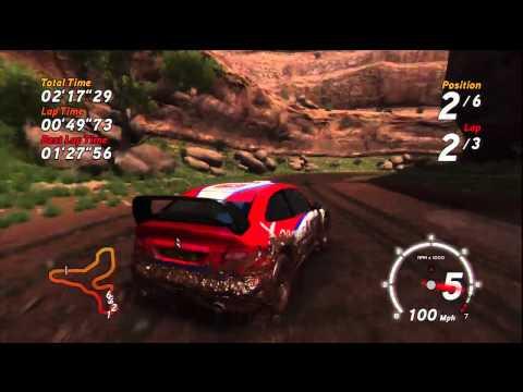 Sega Rally PS3 HD